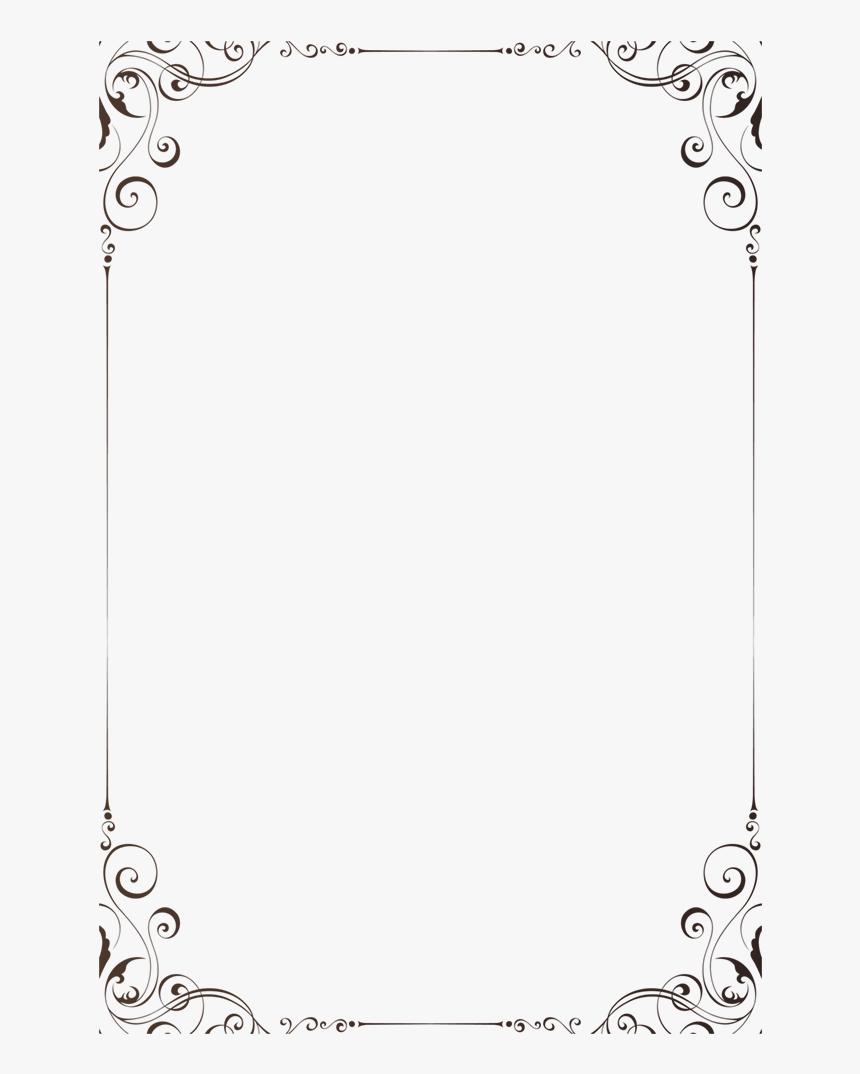 European Pattern Lines Border Png Download - Circle, Transparent Png, Free Download