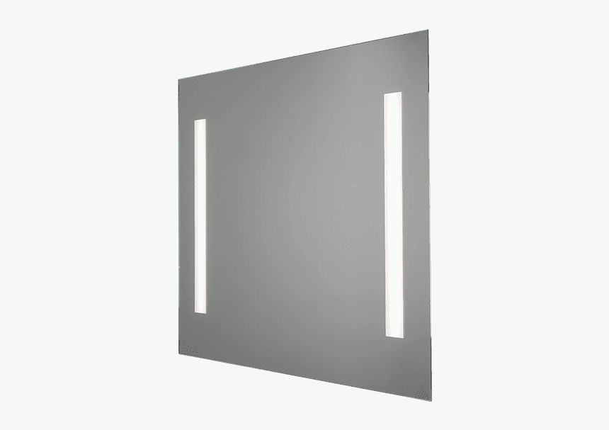 Square Led Lighting Mirror 21w - Mirror, HD Png Download, Free Download