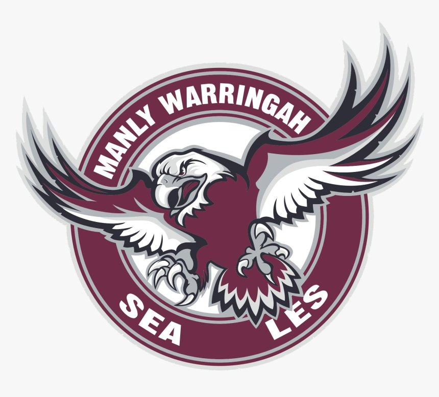 Eagle Logo Free Png Images Manly Warringah Sea Eagles Transparent Png Kindpng