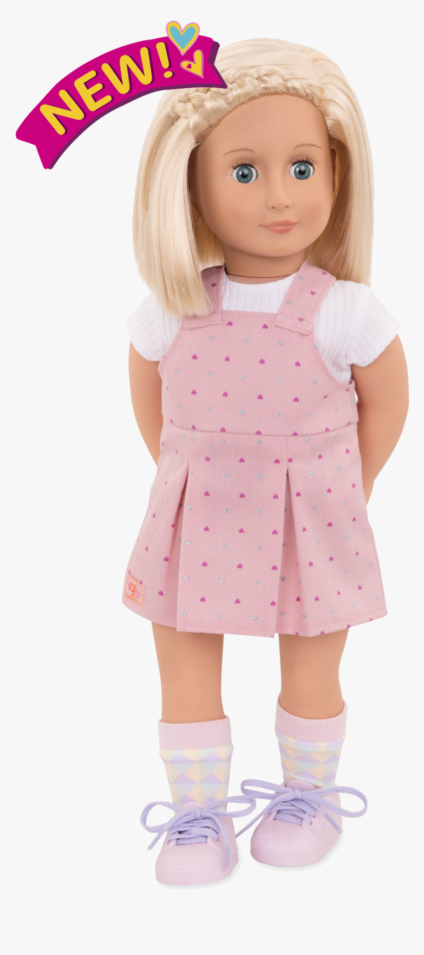 Naty 18-inch Doll With Short Hair - Doll, HD Png Download, Free Download