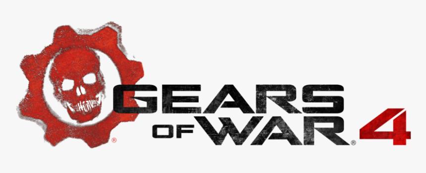 Gears Of War 4 Png - Gears Of War 4 Logo, Transparent Png, Free Download