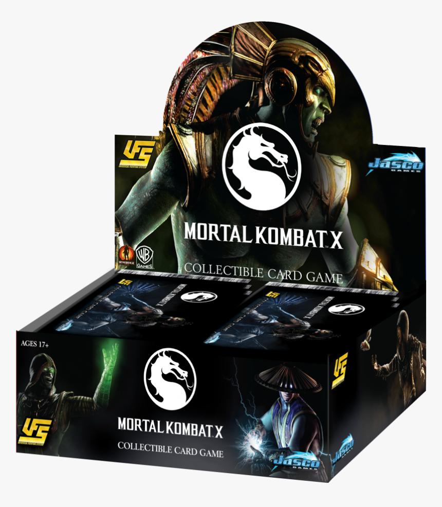 Mortal Kombat X Jasco Games Clipart , Png Download - Ufs Mortal Kombat Deck, Transparent Png, Free Download
