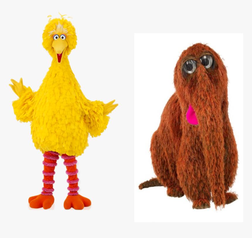 Muppet Wiki Behind The Scenes Sesame Street Episode - Big Bird, HD Png Download, Free Download