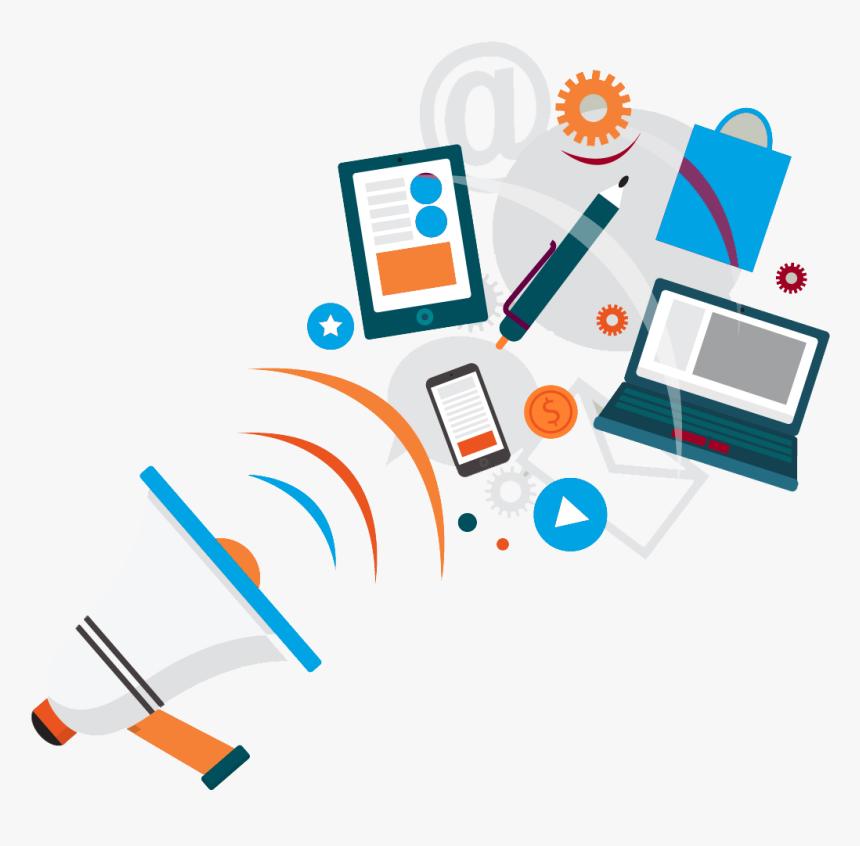 Banner Digital Marketing Background, HD Png Download, Free Download