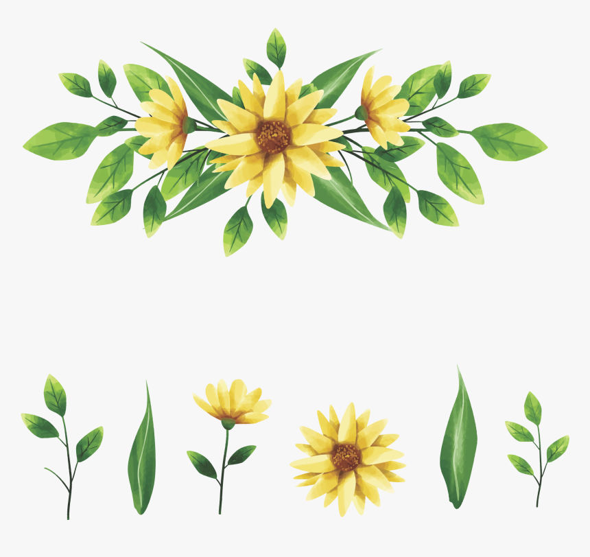 Grass Flower Vector Png, Transparent Png, Free Download