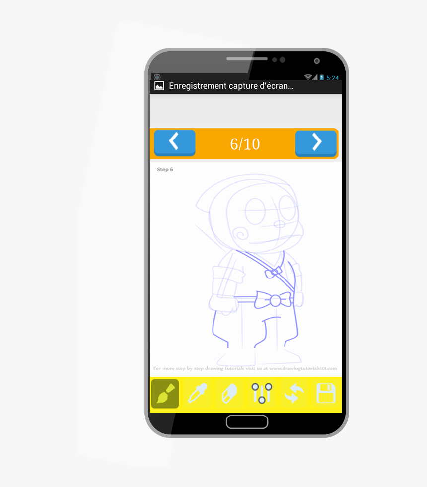 Doraemon Drawing Ninja Hattori - Smartphone, HD Png Download, Free Download
