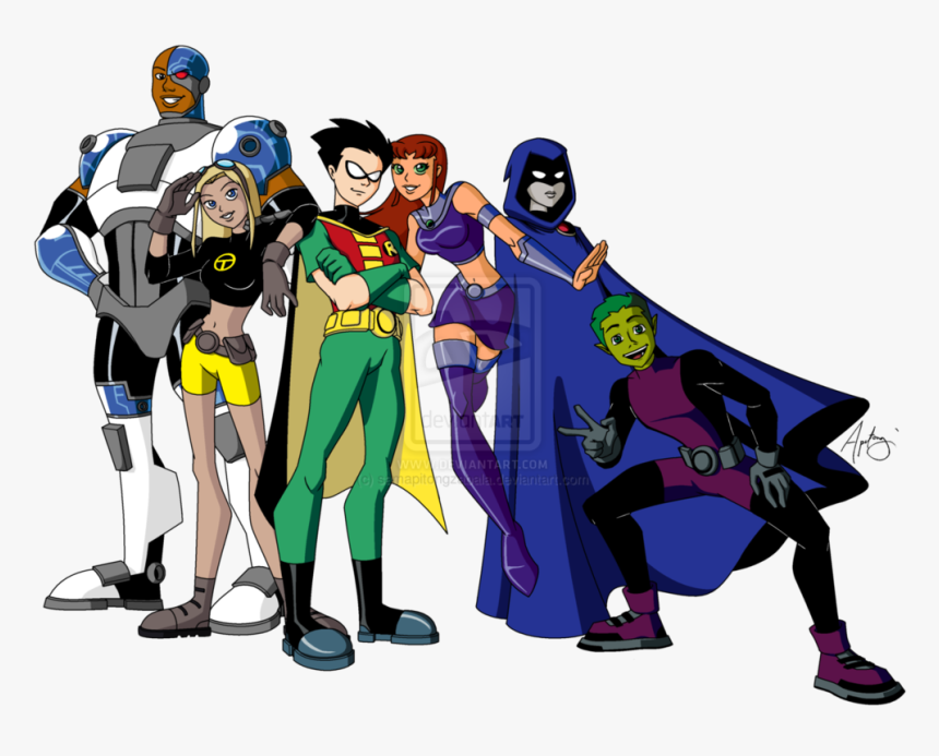 Teen Titans - Teen Titans Nightwing, HD Png Download, Free Download