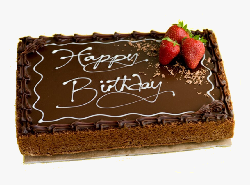 Y - Happy Birthday Cake Chocolate, HD Png Download, Free Download