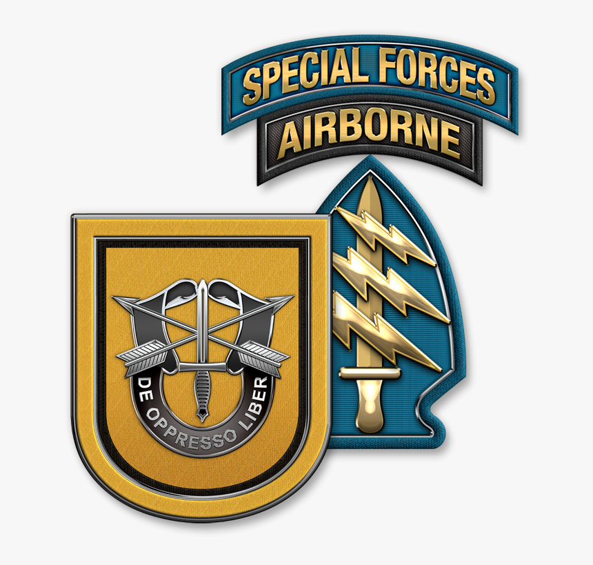 Military Insignia 3d - Army Backgrounds Special Forces, HD Png Download, Free Download
