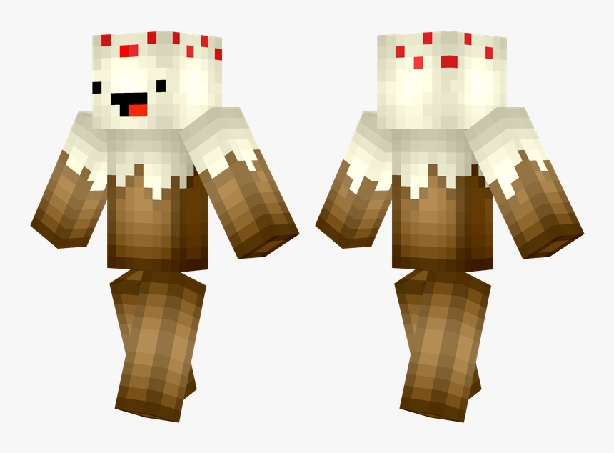 Minecraft Cake Png - Skins De Minecraft, Transparent Png, Free Download