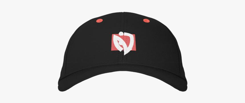 Red Box Dad Hat Black - Baseball Cap, HD Png Download, Free Download