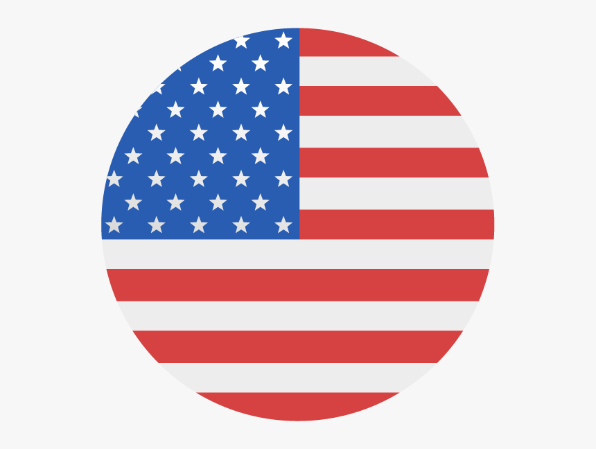 Us Flag Circle Png, Transparent Png, Free Download