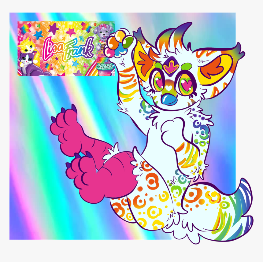 Lisa Frank Furby - Furby Lisa Frank, HD Png Download, Free Download