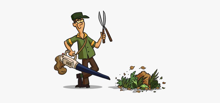Gardener Clipart Garden Thing Gardening Services Cartoon Hd Png Download Kindpng