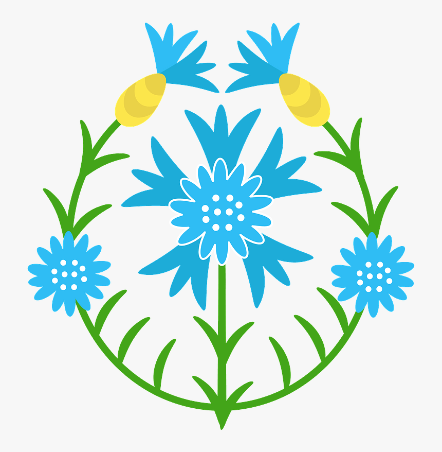 Wildflower Clipart, HD Png Download, Free Download
