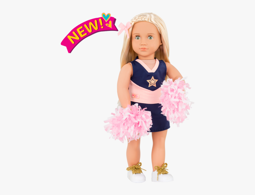 18-inch Cheerleader Doll Khloe - Sarah Our Generation Doll, HD Png Download, Free Download