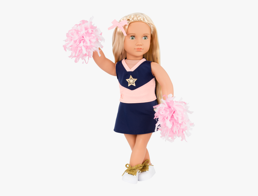 18-inch Cheerleader Doll Khloe Outfit - Our Generation Dolls Khloe, HD Png Download, Free Download
