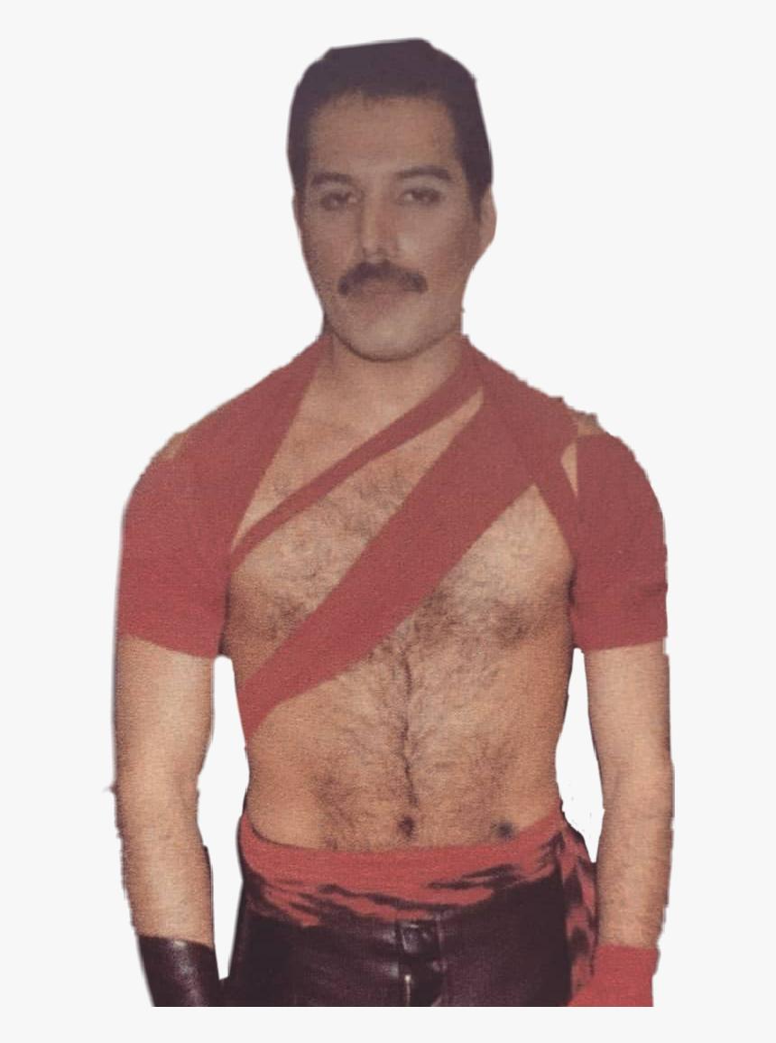 Sexy Freddiemercury Freddie Mercury Hot Radiogaga Barechested Hd Png Download Kindpng