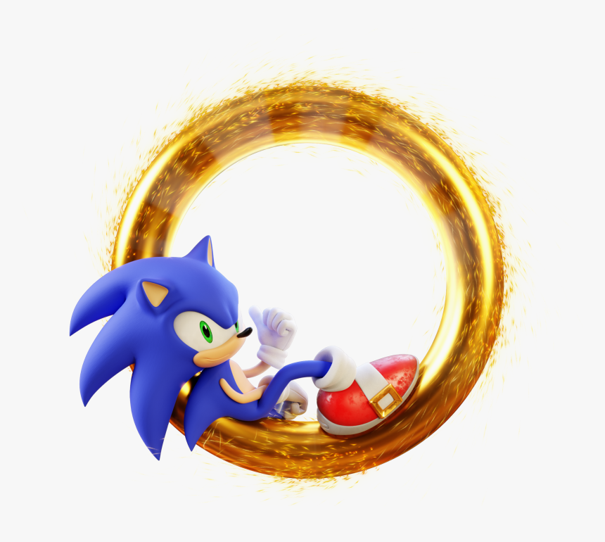 Sonic The Hedgehog Ring Hd Png Download Kindpng