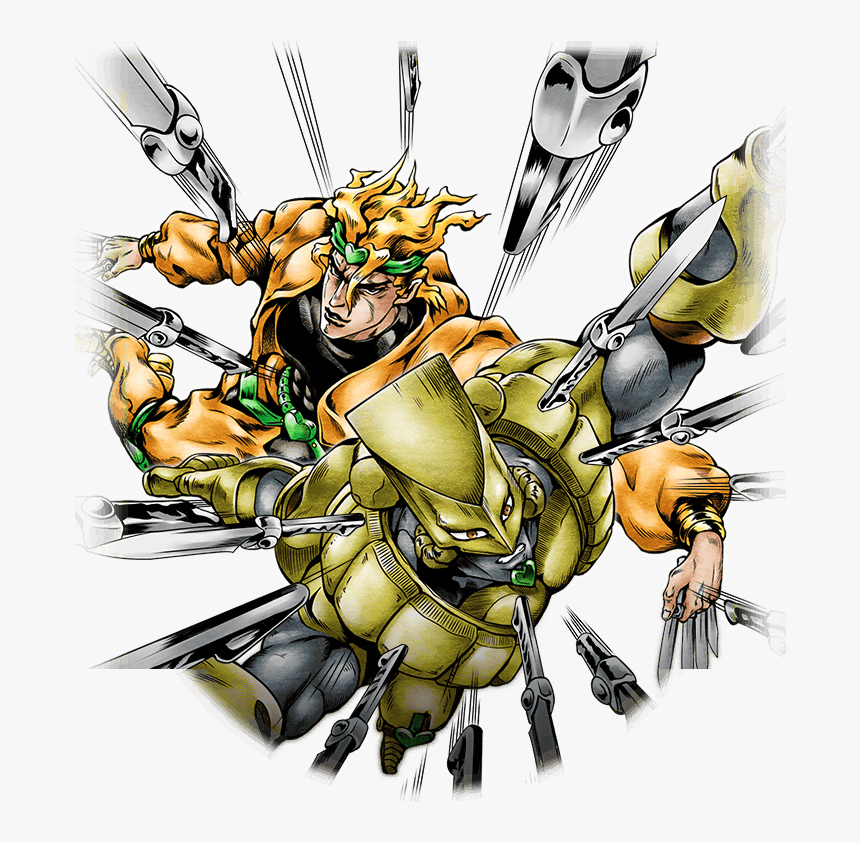 Thumb Image - Dio Brando Stardust Shooters, HD Png Download, Free Download