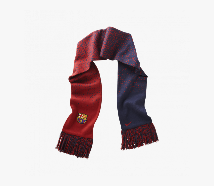 Fc Barcelona Authentic Fan Scarf - Barca Scarf Png, Transparent Png, Free Download