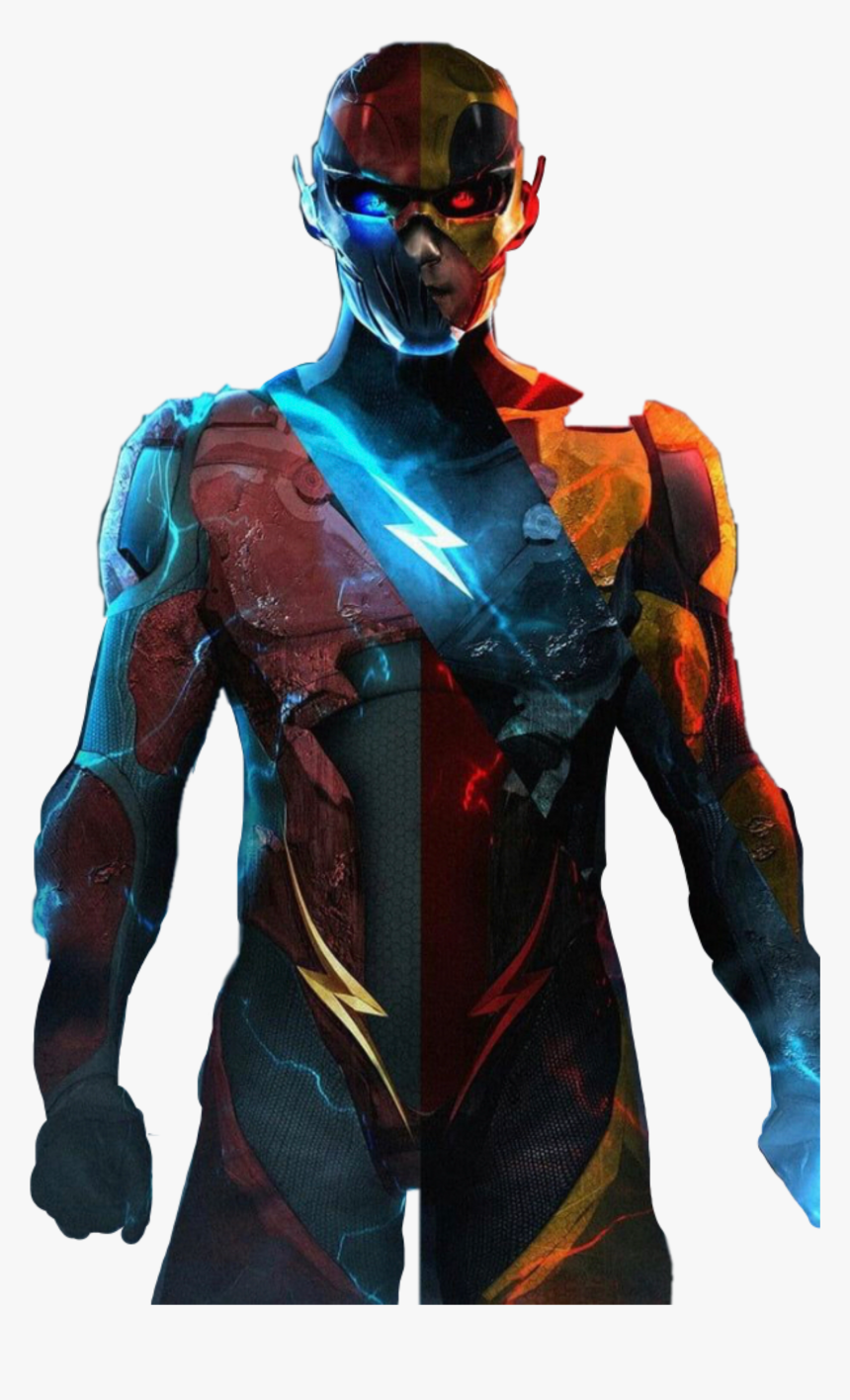Flash Reverseflash Savitar Eobard Thawne Black Flash Zoom And Reverse Flash Hd Png Download Kindpng