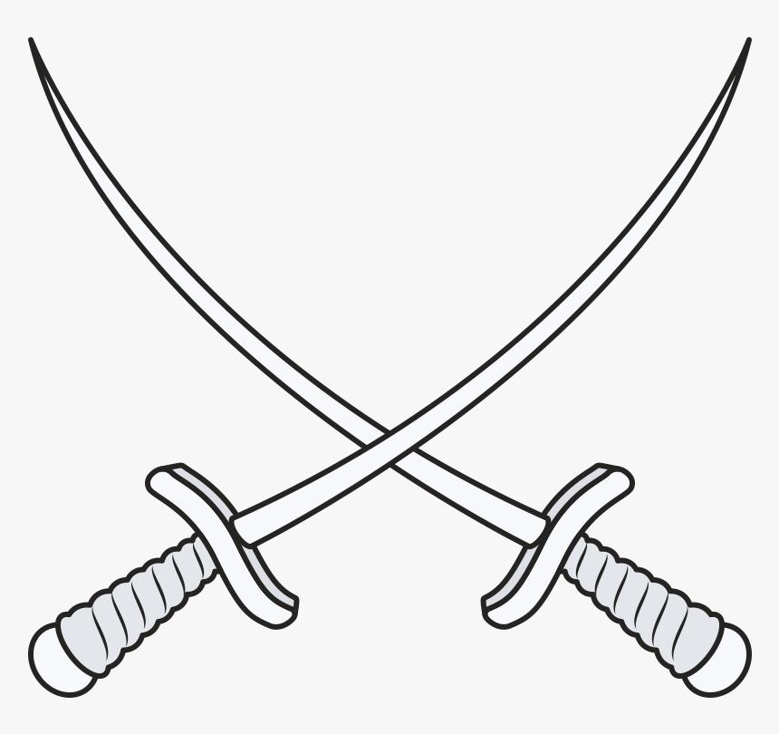 Sword Clip Art - Cross Sword Png, Transparent Png, Free Download