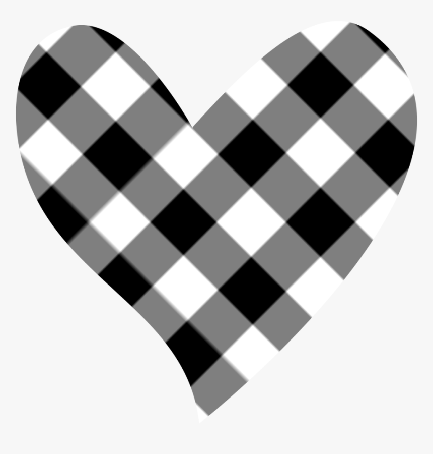 Black And White Hearts , Png Download - Black And White Hearts Clipart, Transparent Png, Free Download
