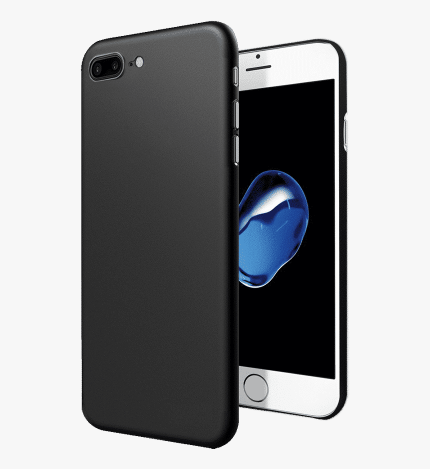 Dailyobjects Air Thin Black Case For Iphone 8 Plus - Apple Iphone 8, HD Png Download, Free Download