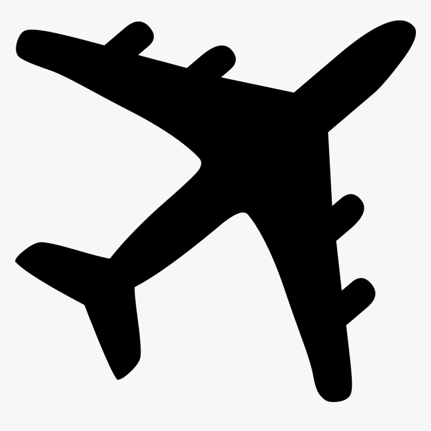 Airplane Silhouette Airplane Clipart Hd Silhouette Hd Png