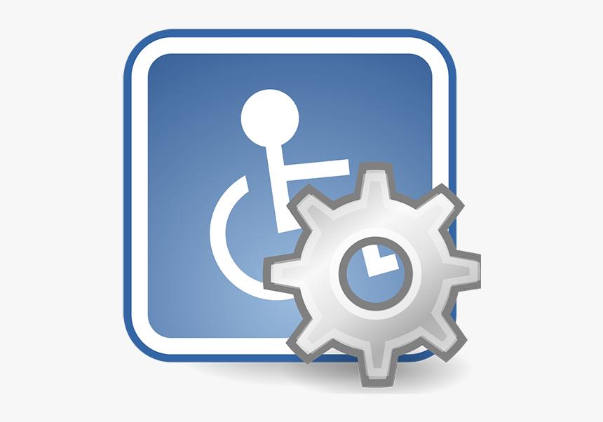 Desktop Assistive Technology Icon - Assistive Technology Icon, HD Png Download, Free Download