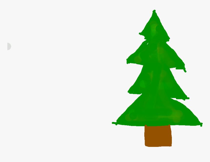Transparent Christmas Tree Drawing Png - Christmas Tree, Png Download, Free Download