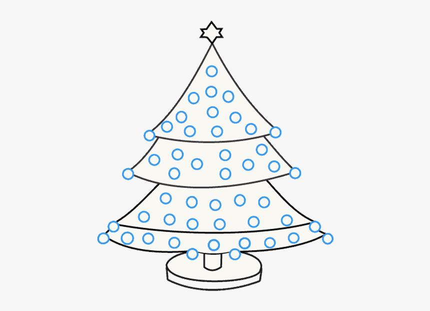 School Drawing Christmas Tree