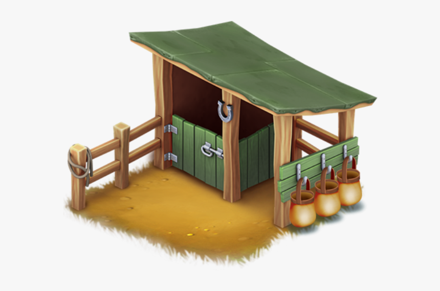 Horse Stable - Hay Day Horse Stable, HD Png Download, Free Download