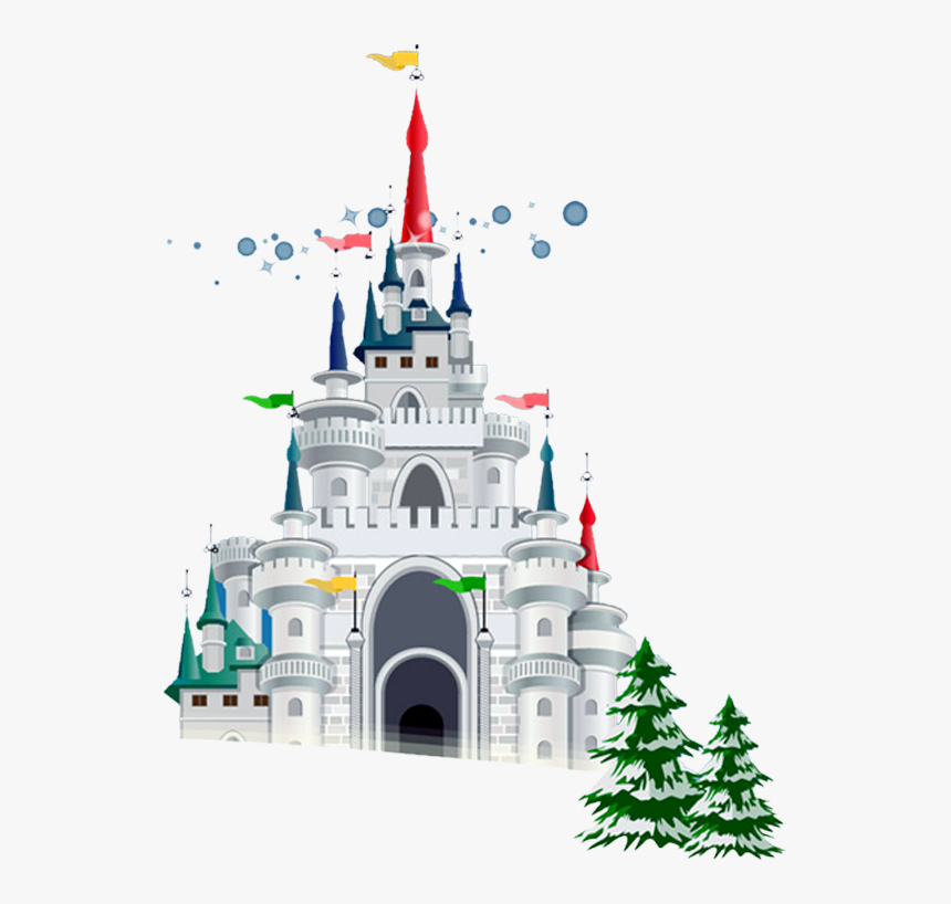 Drawing Of A Castle Png Image - Christmas Castle Png, Transparent Png, Free Download