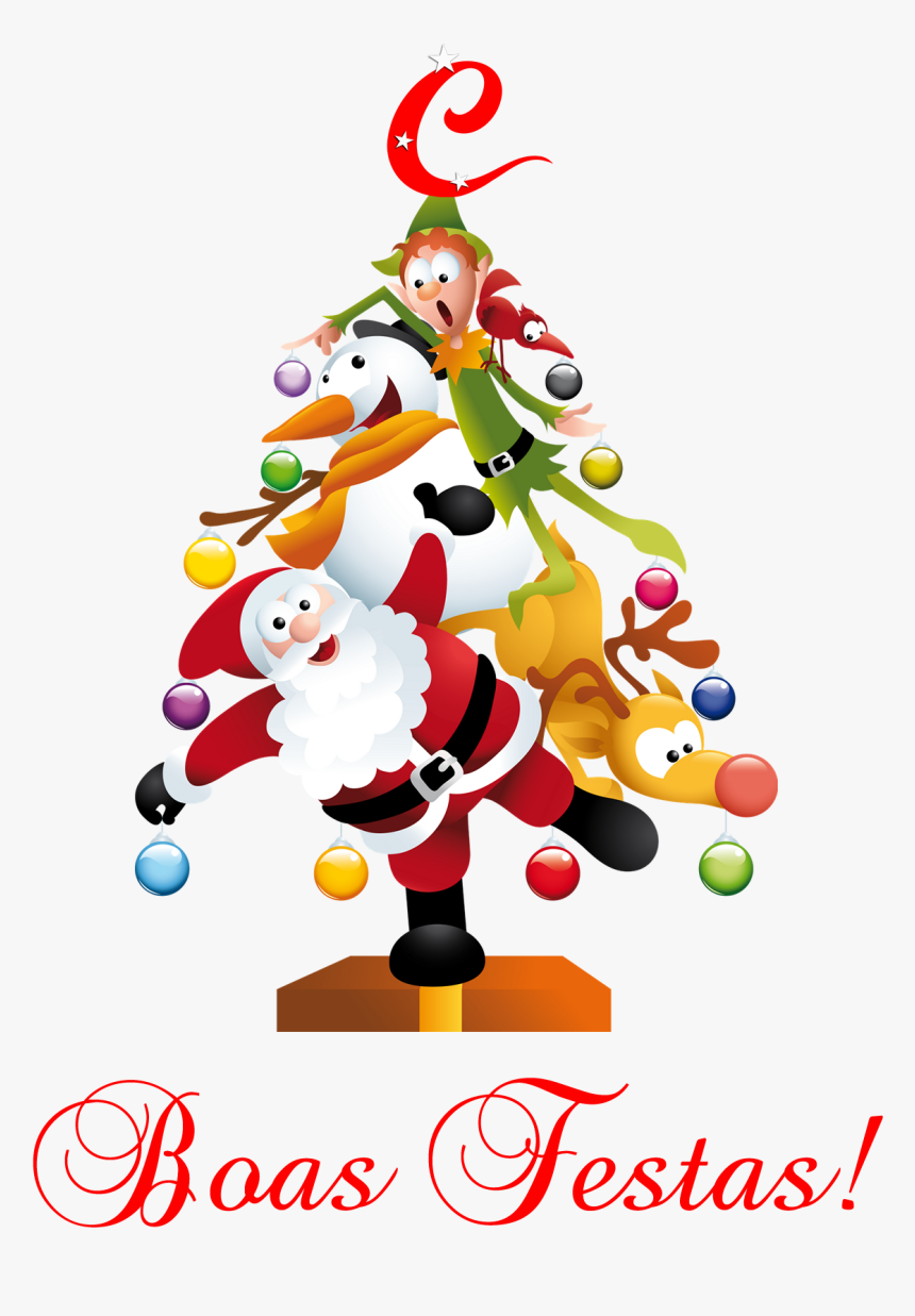 Transparent Boas Festas Png - Merry Christmas Beautiful Drawing, Png Download, Free Download