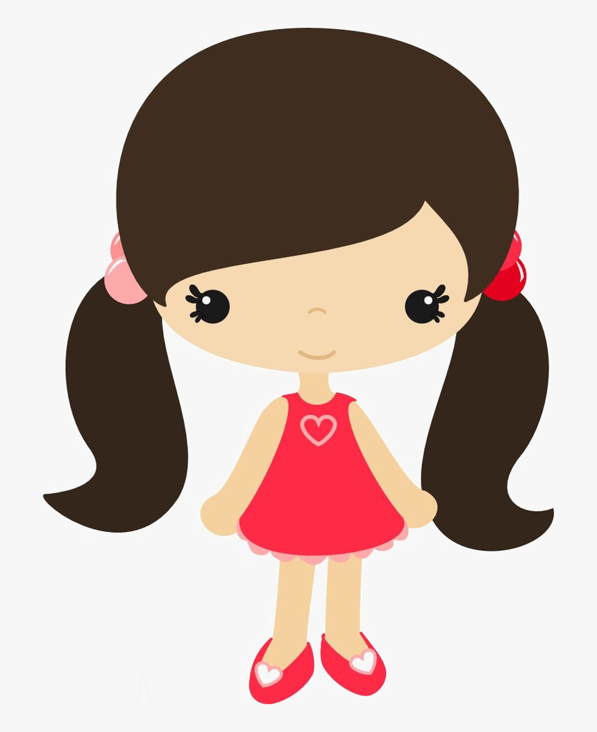 Girl Png Clipart   Cute Girl Clipart, Transparent Png   kindpng
