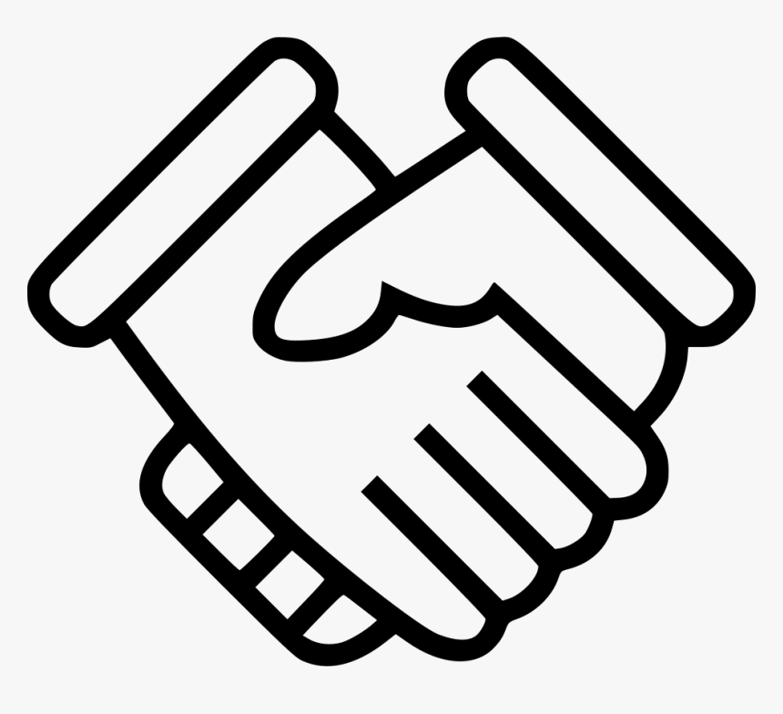 Hands Shaking - Deal Icon Png, Transparent Png, Free Download
