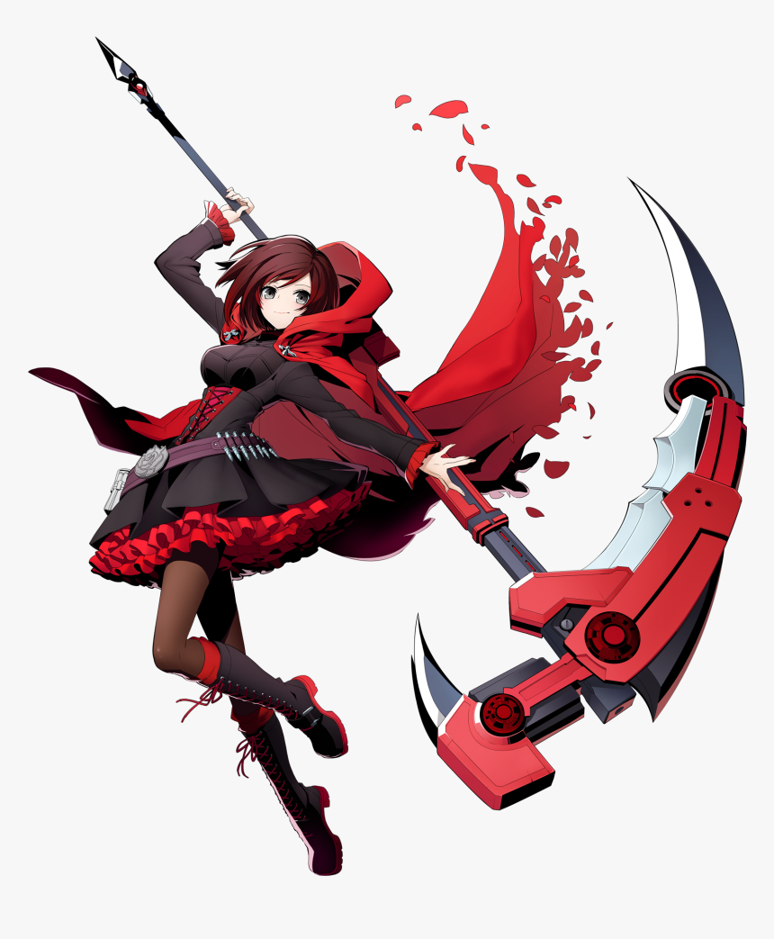 Blazblue Cross Tag Battle Ruby Png, Transparent Png, Free Download