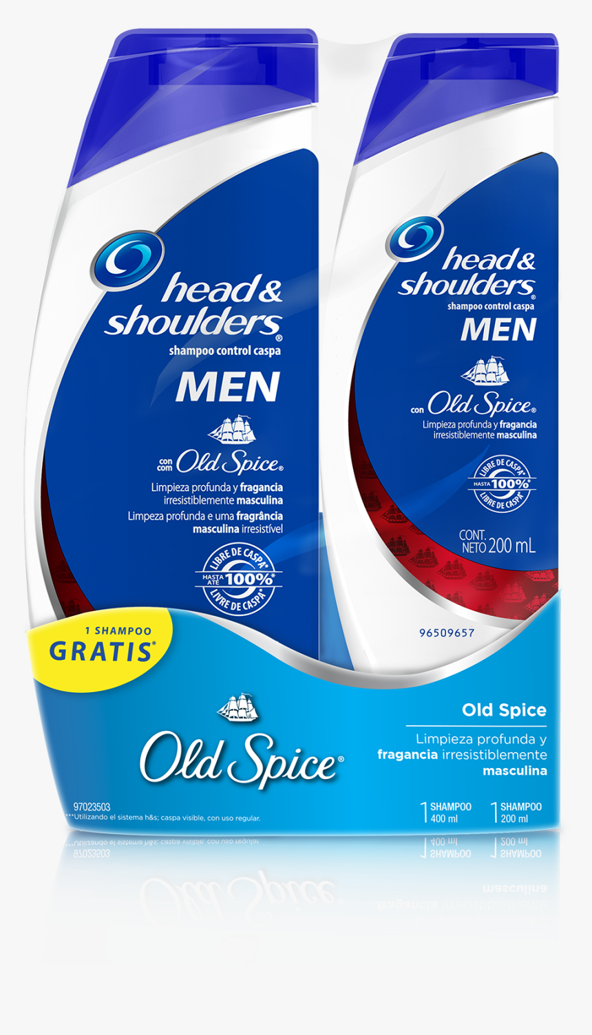 Head And Shoulders Para Hombres, HD Png Download, Free Download