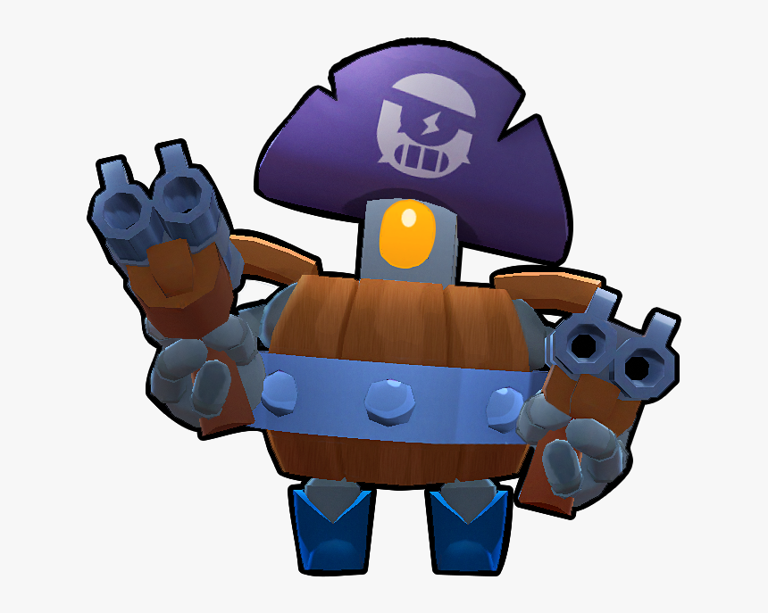 Brawl Stars Wiki - Darryl Brawl Stars Desenho, HD Png Download, Free Download