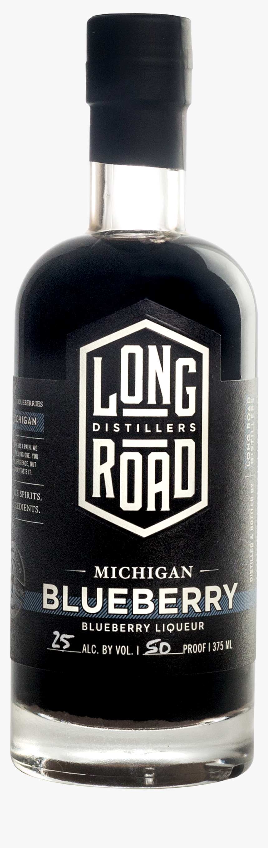 Michigan Blueberry Long Road Distillers - Bottle, HD Png Download, Free Download