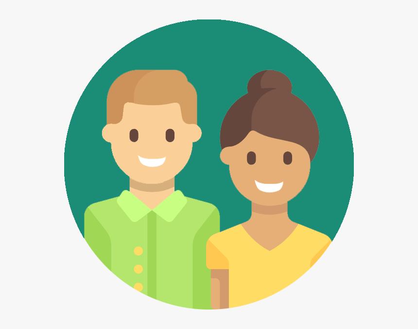 Clipart Teacher Parent - Parents Clipart Png, Transparent Png, Free Download