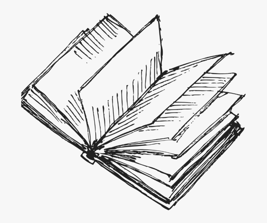 Transparent Books Drawing Png - Book Drawing Transparent Background, Png Download, Free Download