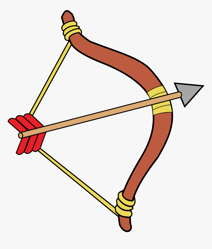 Arrow Bow Indian Free Picture - Bow And Arrow Clipart, HD Png Download, Free Download