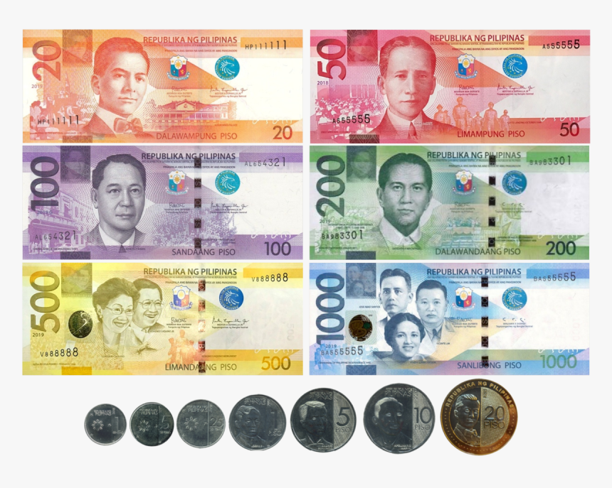 New Philippine Money, HD Png Download, Free Download