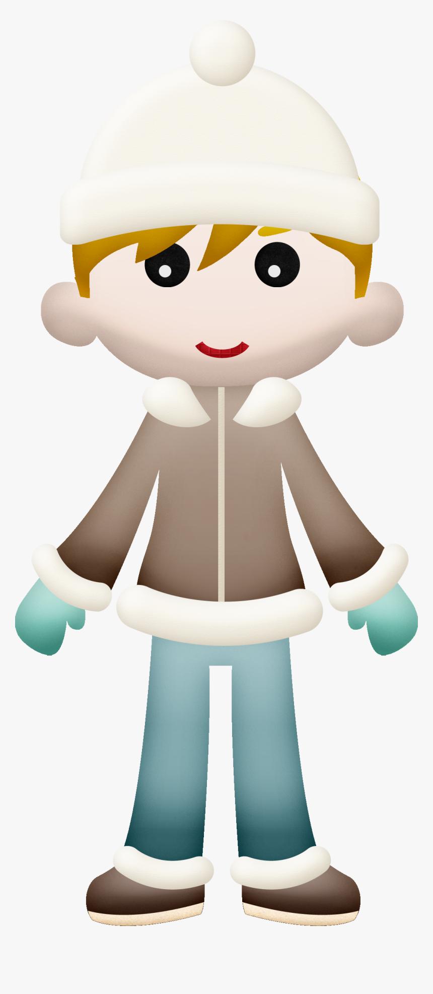 Winter Little Boy Clip Art - Clip Art, HD Png Download, Free Download