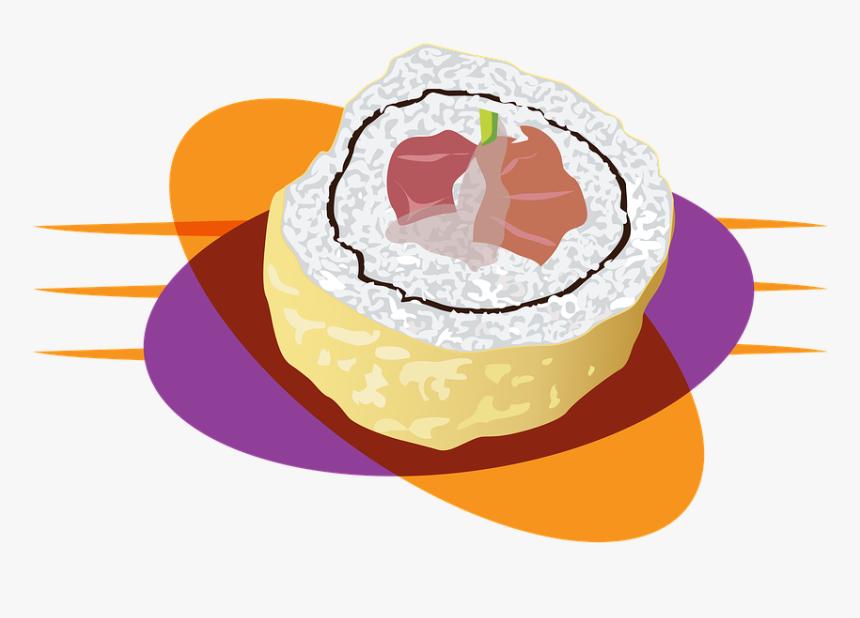 Sushi, Wok, Chinese, Food, Rice, Asian, Cuisine, Japanese, - Rice Asian Cuisine, HD Png Download, Free Download