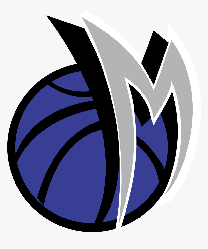 Dallas Mavericks Logo Vector Transparent Vector Logo - Nba Vector Logo Team Basketball, HD Png Download, Free Download