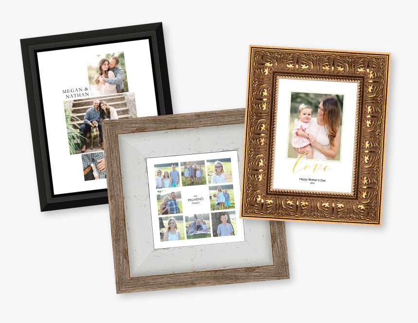 Framed Composite Collage Prints - Picture Frame, HD Png Download, Free Download